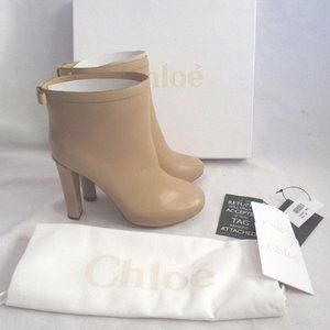 NEW CHLOE TALCO CALF Leather Bootie Ankle Boot